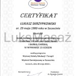 Certificate of completion Massage hot and cold stones, herbal stamps and Chinese cupping.