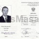 Diploma obtain the title of Master of Physiotherapy.