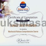 Certificate of completion Relaxation of Myofascial.