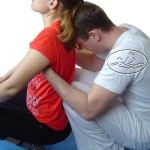 Compressions of the back - mobilization of the joints of the spine.