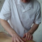Test motion palpation of soft tissues.