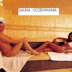 Sauna - expectations.