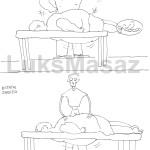 Slimming massage.